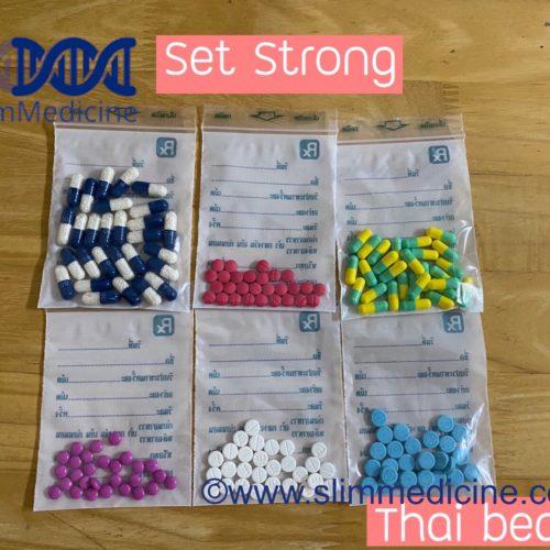 Strong Thai bears slimming pills