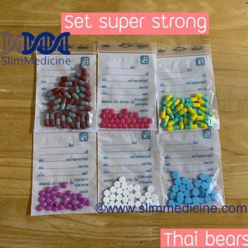 Super strong Thai bears diet pills