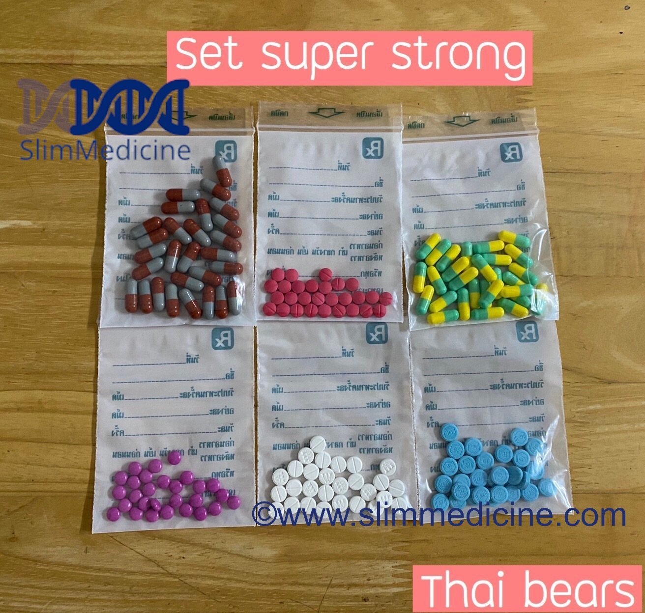 Super strong Thai bears diet pills